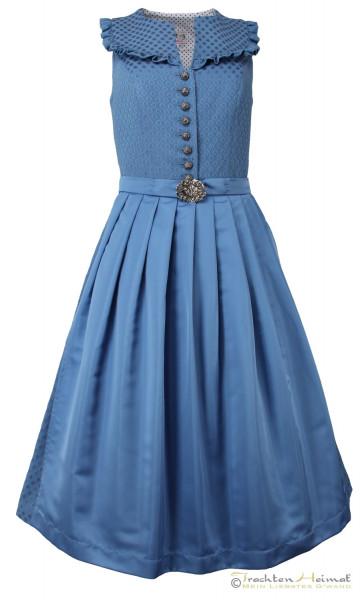 Vintage Dirndl Rosalie Tessa hellblau 70cm