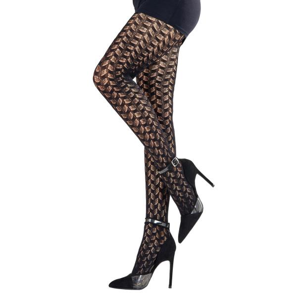 Die sexy Netzstrumpfhose Hanna ist ein wahrer Hingucker unter Ihrem Trachtenoutfit. Der Baumwollzwickel sorgt für optimalen Tragekomfort.