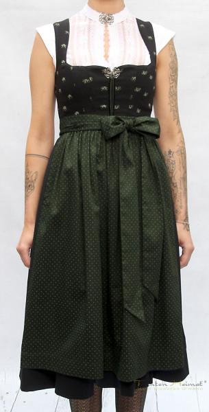 Dirndl Anno Domini Design Anastasia schwarz grün