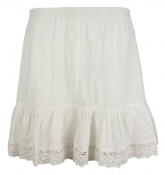 Unterrock Almsach mit eingearbeiteter Hose weiß 45cm