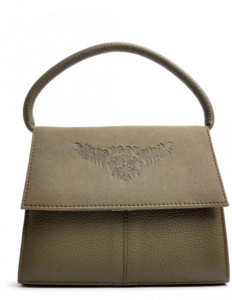 Dirndltasche Trachten Handtasche OWA Desiree khaki