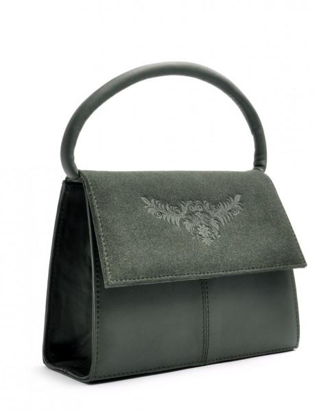 Dirndltasche Trachten Handtasche OWA Desiree grün