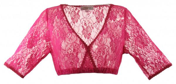 Goldstich Dirndlbluse pink 000251