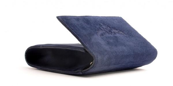 Dirndltasche Trachten Handtasche OWA dunkelblau