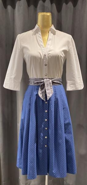 Trachtenkleid Berwin & Wolff weiß blau