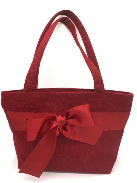Dirndltasche Trachten Handtasche Luise Steiner mit Schleife rubin