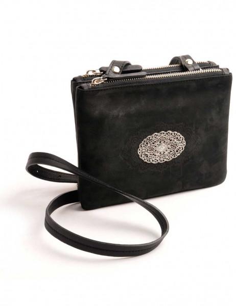 Dirndltasche Trachten Handtasche OWA Clara schwarz