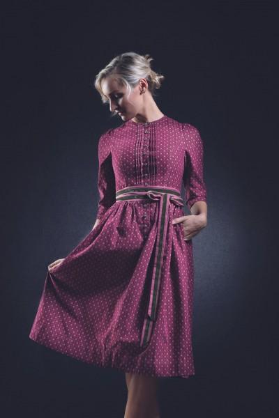 Kleid Anno Domini Design Isolde brombeere