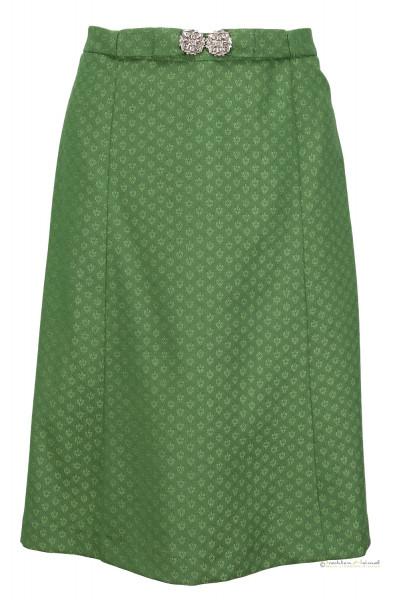 Trachtenrock Hammerschmid Erlangen grün mit Schließe